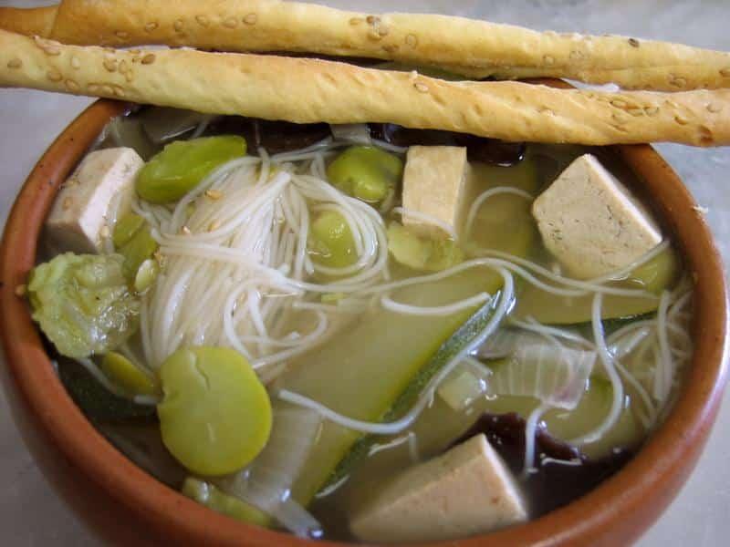 soupe chinoise au tofu - Cuisine Asiatique Chinois